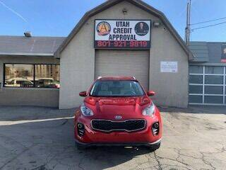 2019 Kia Sportage for sale at Utah Credit Approval Auto Sales in Murray UT