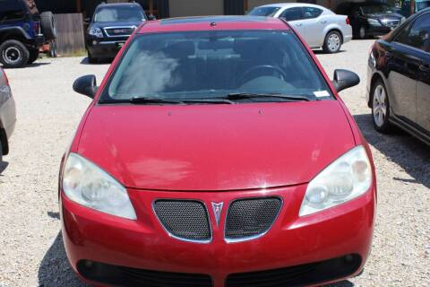 2006 Pontiac G6 for sale at Bailey & Sons Motor Co in Lyndon KS