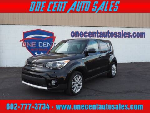 2017 Kia Soul for sale at One Cent Auto Sales in Glendale AZ
