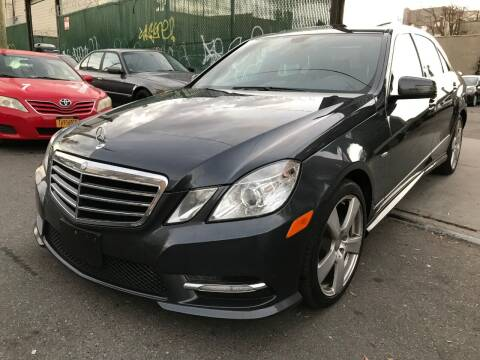 2012 Mercedes-Benz E-Class for sale at Ultimate Motors in Port Monmouth NJ