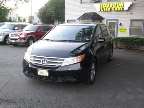 2013 Honda Odyssey for sale at Loudoun Used Cars in Leesburg VA