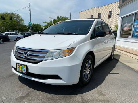 2011 Honda Odyssey for sale at ADAM AUTO AGENCY in Rensselaer NY