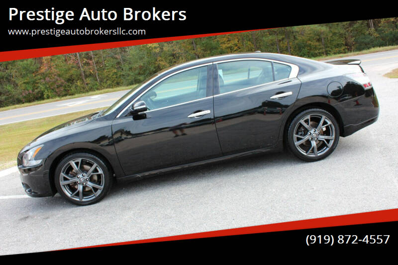 2014 Nissan Maxima for sale at Prestige Auto Brokers in Raleigh NC