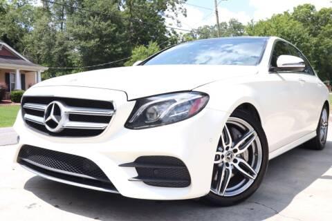 2018 Mercedes-Benz E-Class for sale at E-Z Auto Finance in Marietta GA