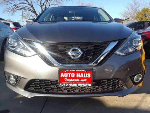 2017 Nissan Sentra for sale at Auto Haus Imports in Grand Prairie TX