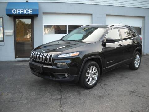 2015 Jeep Cherokee for sale at Best Wheels Imports in Johnston RI