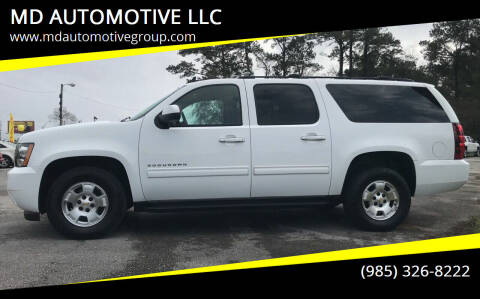 2011 Chevrolet Suburban for sale at MD AUTOMOTIVE LLC in Slidell LA