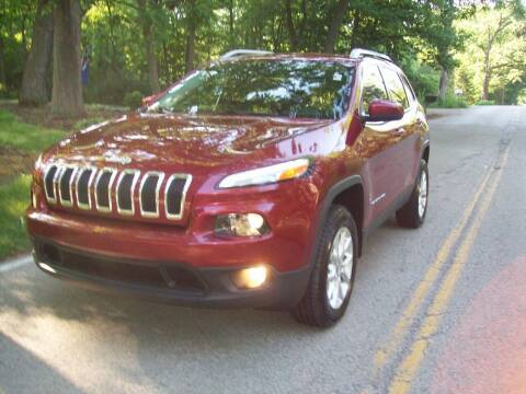 2014 Jeep Cherokee for sale at Edgewater of Mundelein Inc in Wauconda IL