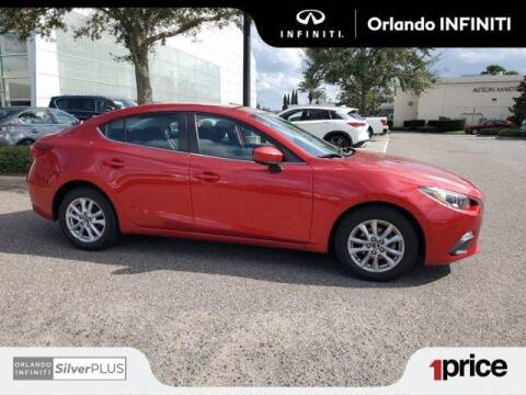 2016 Mazda MAZDA3 for sale at Orlando Infiniti in Orlando FL