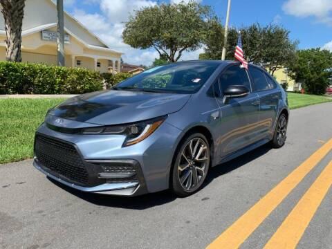 2020 Toyota Corolla for sale at GTR Motors in Davie FL