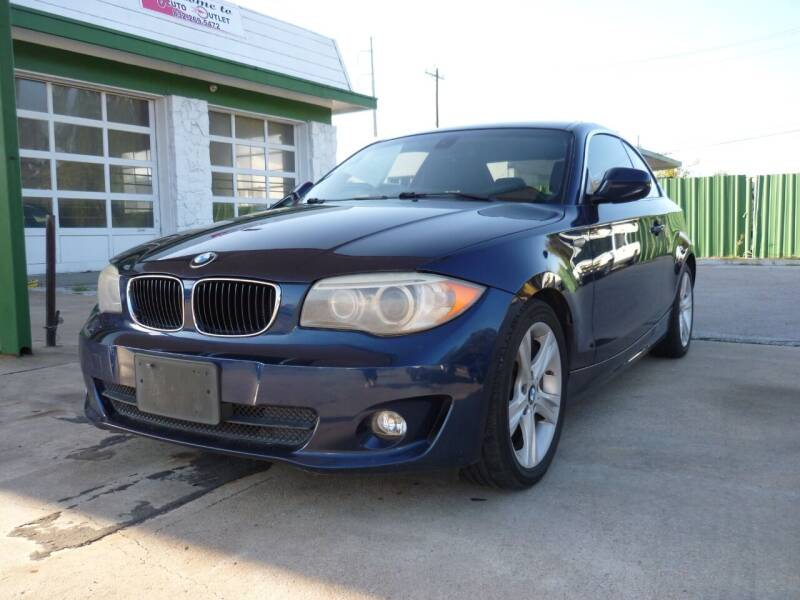 2012 BMW 1 Series for sale at Auto Outlet Inc. in Houston TX