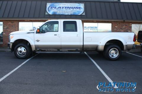 2012 Ford F-450 Super Duty for sale at Platinum Auto World in Fredericksburg VA