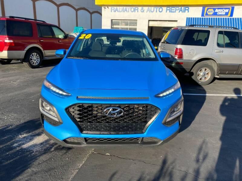 2020 Hyundai Kona for sale at DUNEDIN AUTO SALES INC in Dunedin FL