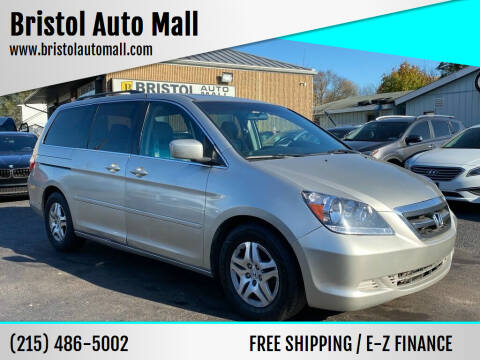 2007 Honda Odyssey for sale at Bristol Auto Mall in Levittown PA