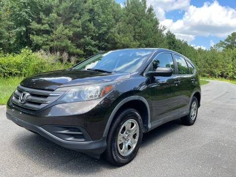 2013 Honda CR-V for sale at Carrera AutoHaus Inc in Clayton NC