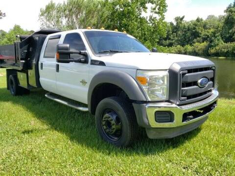 2012 Ford F-550 Super Duty for sale at BOZARD FORD in Saint Augustine FL