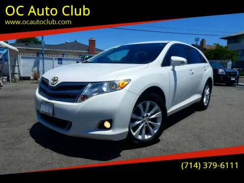 2014 Toyota Venza for sale at OC Auto Club in Midway City CA