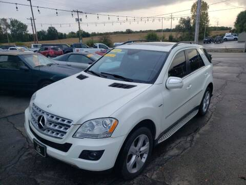 2010 Mercedes-Benz M-Class for sale at D & D Auto Sales Of Onsted in Onsted MI
