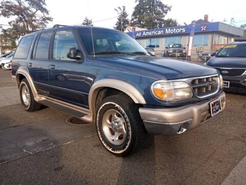 1999 Ford Explorer for sale at All American Motors in Tacoma WA