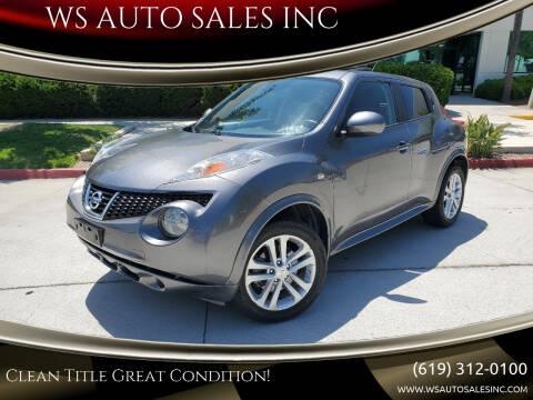 2011 Nissan JUKE for sale at WS AUTO SALES INC in El Cajon CA