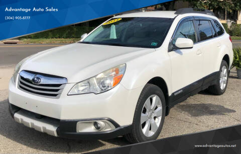 2011 Subaru Outback for sale at Advantage Auto Sales in Wheeling WV