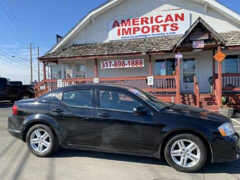 2014 Dodge Avenger for sale at American Imports INC in Indianapolis IN