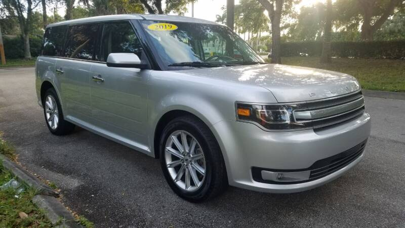2019 Ford Flex for sale at DELRAY AUTO MALL in Delray Beach FL