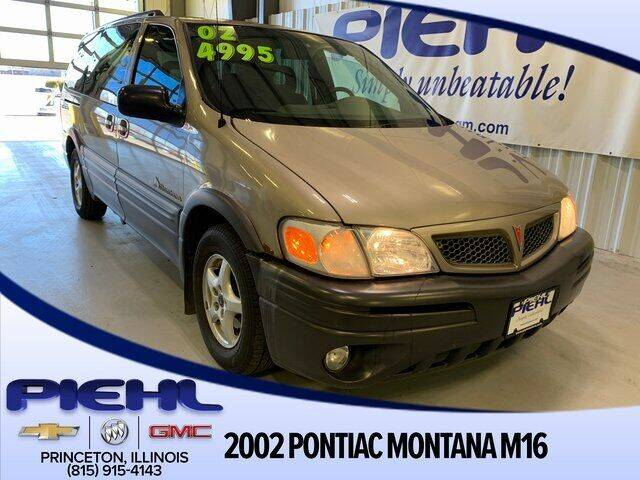 2002 Pontiac Montana for sale at Piehl Motors - PIEHL Chevrolet Buick Cadillac in Princeton IL