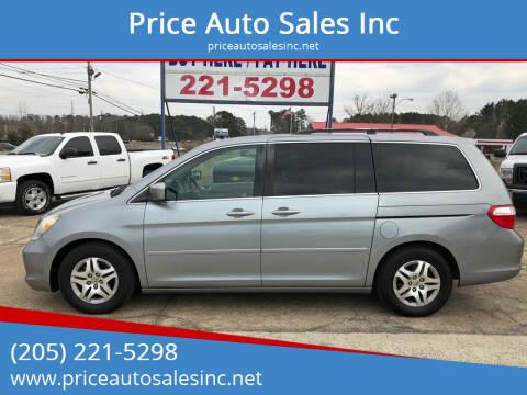 2007 Honda Odyssey for sale at Price Auto Sales Inc in Jasper AL