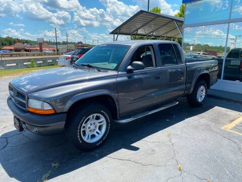 2003 Dodge Dakota for sale at Brian Jones Motorsports Inc in Danville VA