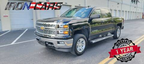 2014 Chevrolet Silverado 1500 for sale at IRON CARS in Hollywood FL