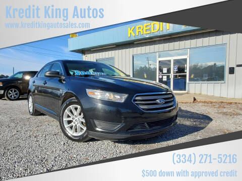 2013 Ford Taurus for sale at Kredit King Autos in Montgomery AL