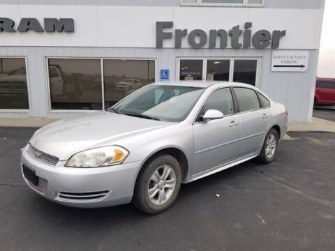 2012 Chevrolet Impala for sale at Frontier Motors Automotive, Inc. in Winner SD