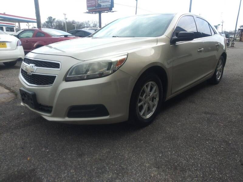 2013 Chevrolet Malibu for sale at Best Buy Autos in Mobile AL