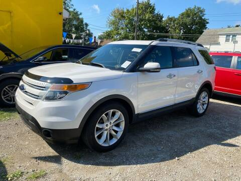 2013 Ford Explorer for sale at C & M Auto Sales in Detroit MI