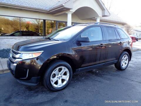 2014 Ford Edge for sale at DEALS UNLIMITED INC in Portage MI