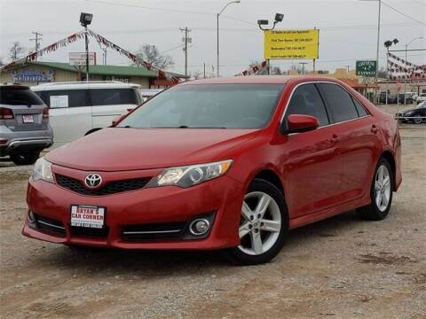 2014 Toyota Camry for sale at Bryans Car Corner in Chickasha OK