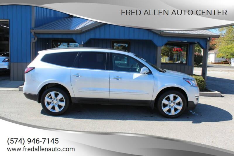 2017 Chevrolet Traverse for sale at Fred Allen Auto Center in Winamac IN