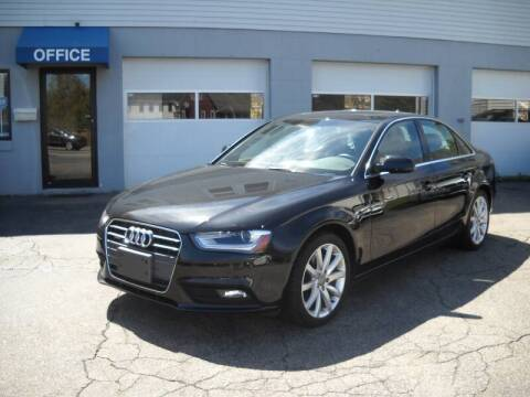2013 Audi A4 for sale at Best Wheels Imports in Johnston RI