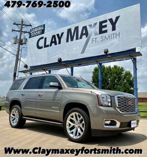 2019 GMC Yukon for sale at Clay Maxey NWA in Springdale AR