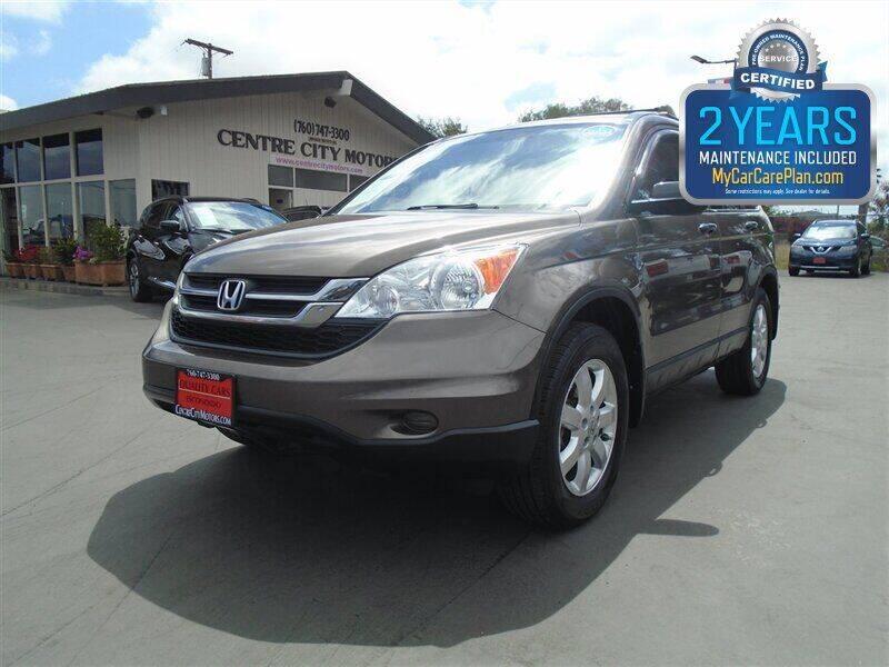 2011 Honda CR-V for sale at Centre City Motors in Escondido CA