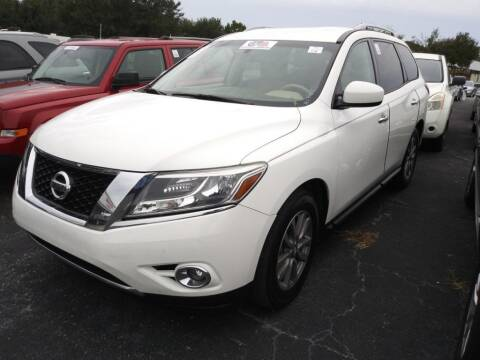 2015 Nissan Pathfinder for sale at Tony's Auto Sales in Jacksonville FL