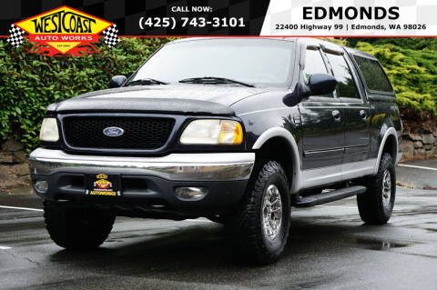 2001 Ford F-150 for sale at West Coast Auto Works in Edmonds WA