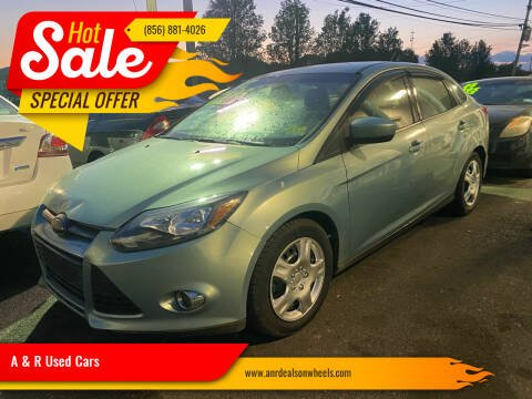2012 Ford Focus for sale at A & R Used Cars in Clayton NJ