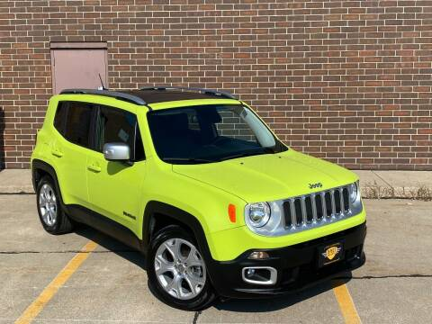 2017 Jeep Renegade for sale at Effect Auto Center in Omaha NE