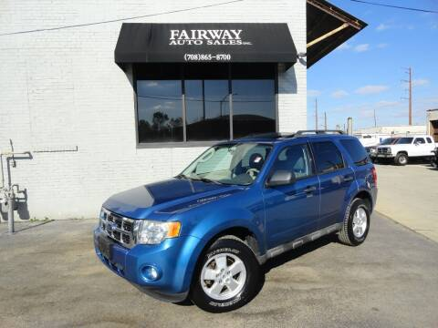 2009 Ford Escape for sale at FAIRWAY AUTO SALES, INC. in Melrose Park IL