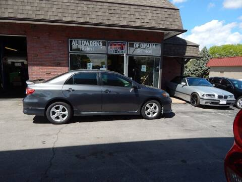 2013 Toyota Corolla for sale at AUTOWORKS OF OMAHA INC in Omaha NE