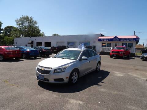 2014 Chevrolet Cruze for sale at United Auto Land in Woodbury NJ