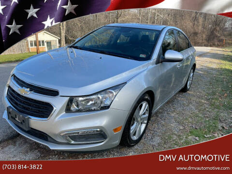 2015 Chevrolet Cruze for sale at DMV Automotive in Falls Church VA