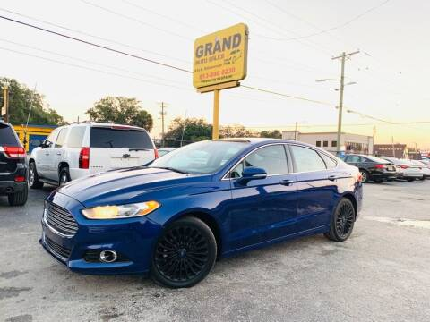 2015 Ford Fusion for sale at Grand Auto Sales in Tampa FL
